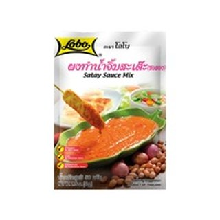 Lobo Sate Sauce Mix Pulver 50g