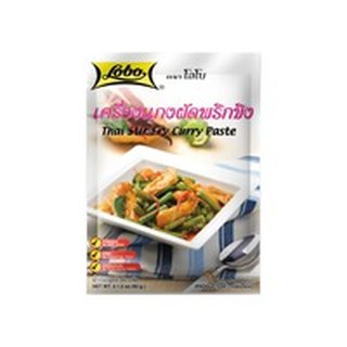 Lobo Curry Huhn Wok Sauce Pulver 60g