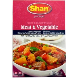 SHAN Meat Curry Vege 50g
