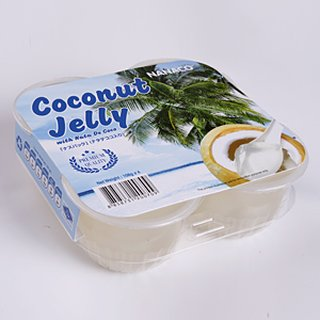 NANACO Coconut Jelly Pudding 4x108g