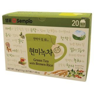 Sempio Green Tea w. Brown Rice 30g, 20 Beutel