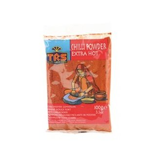 TRS Chilli Pulver Extra Hot 100g